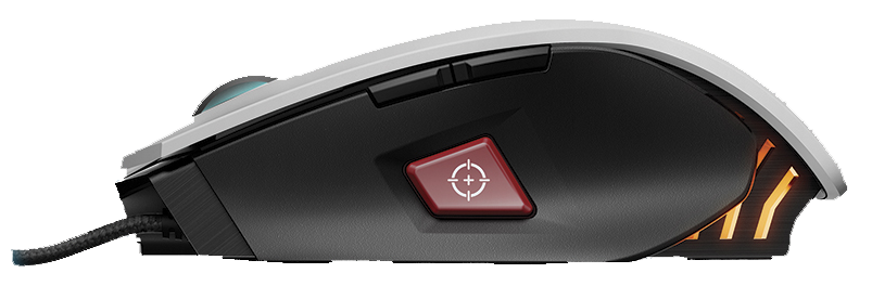 corsair M65 RGB sniper button