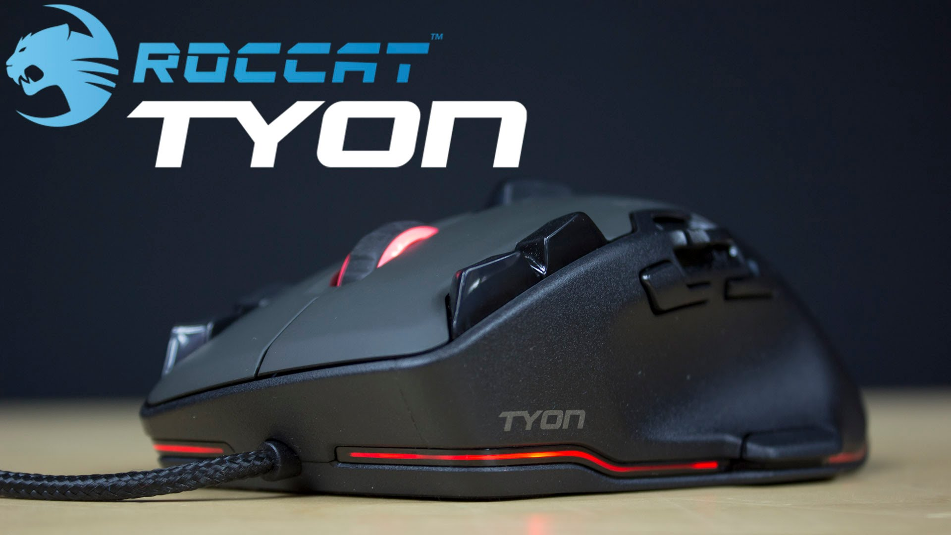 Roccat Tyon design