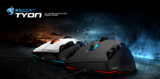 Roccat Tyon Review Gaming Mouse