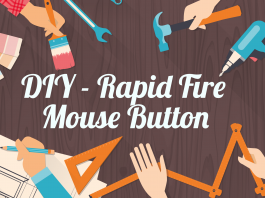 rapid fire mouse button