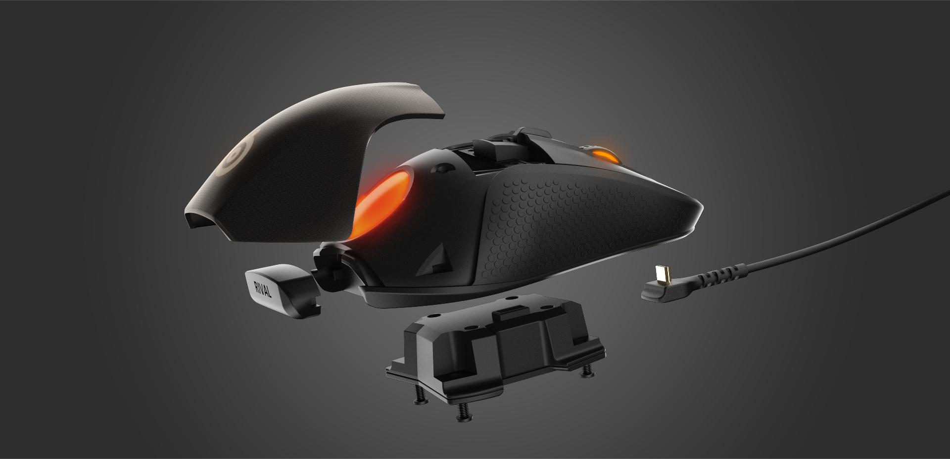 Rival 700 Modular Gaming Mouse